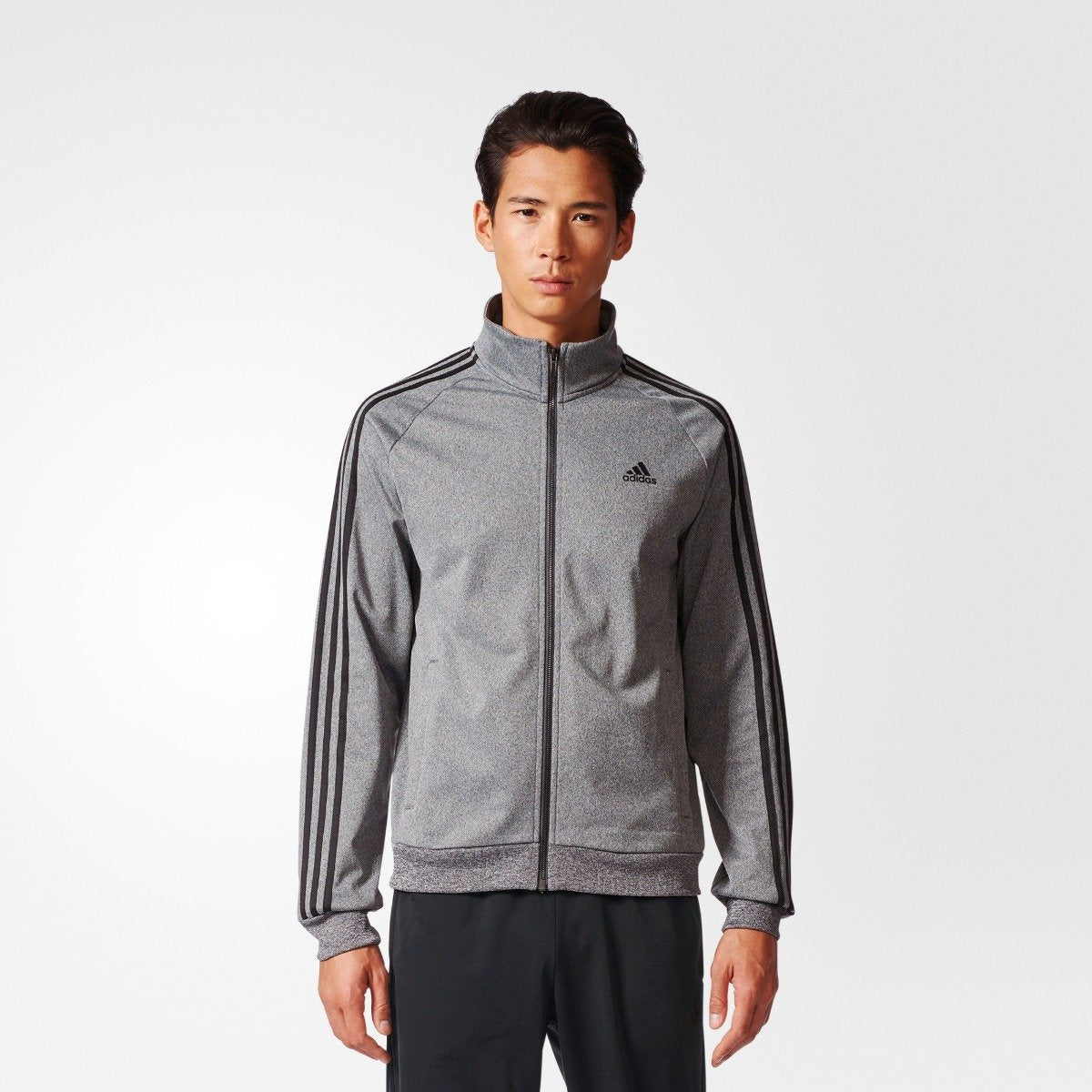 99865a08786c4 Men s Adidas Athletics Essentials Track Jacket Gray CD8752