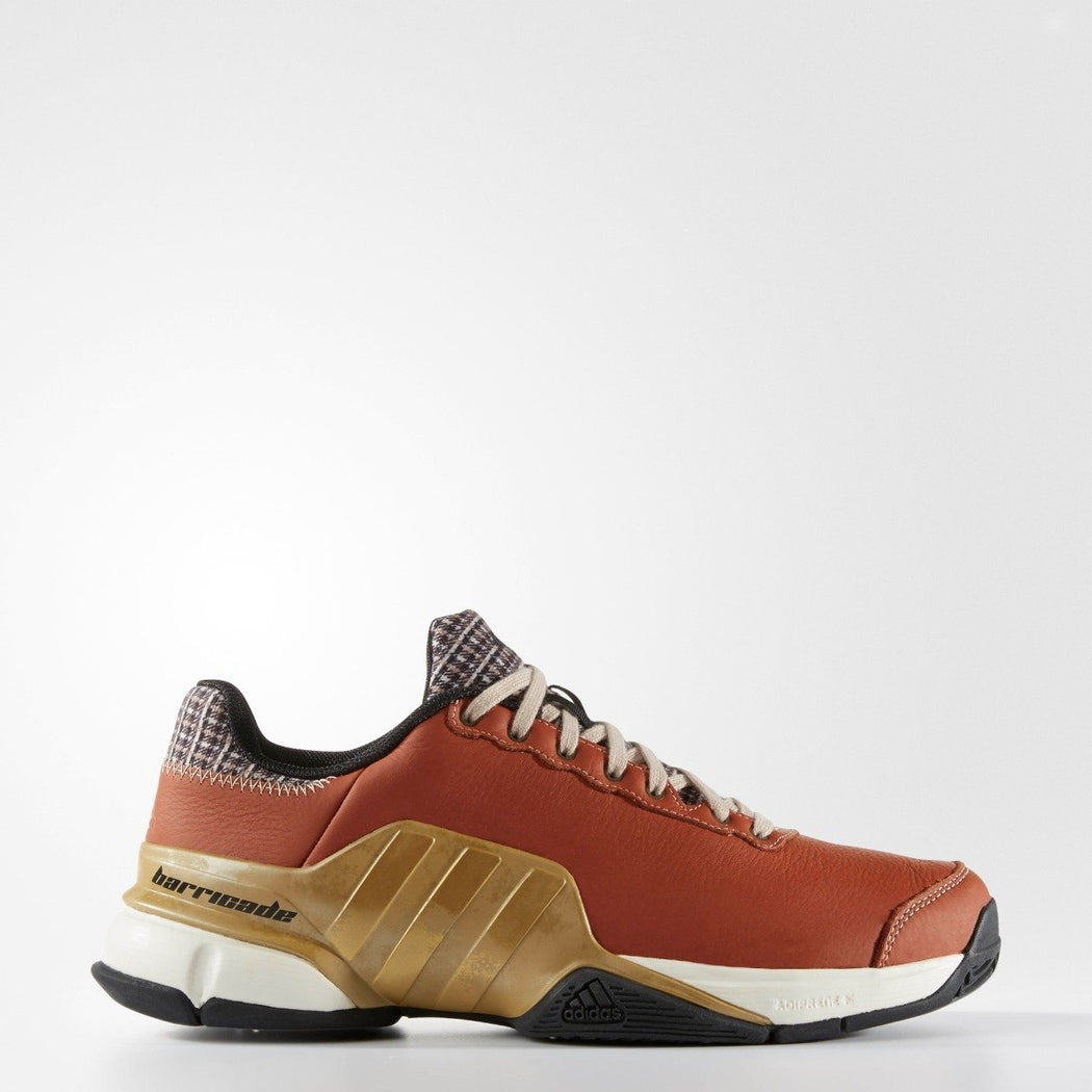Men's Adidas Barricade Mustachio Brown Gold