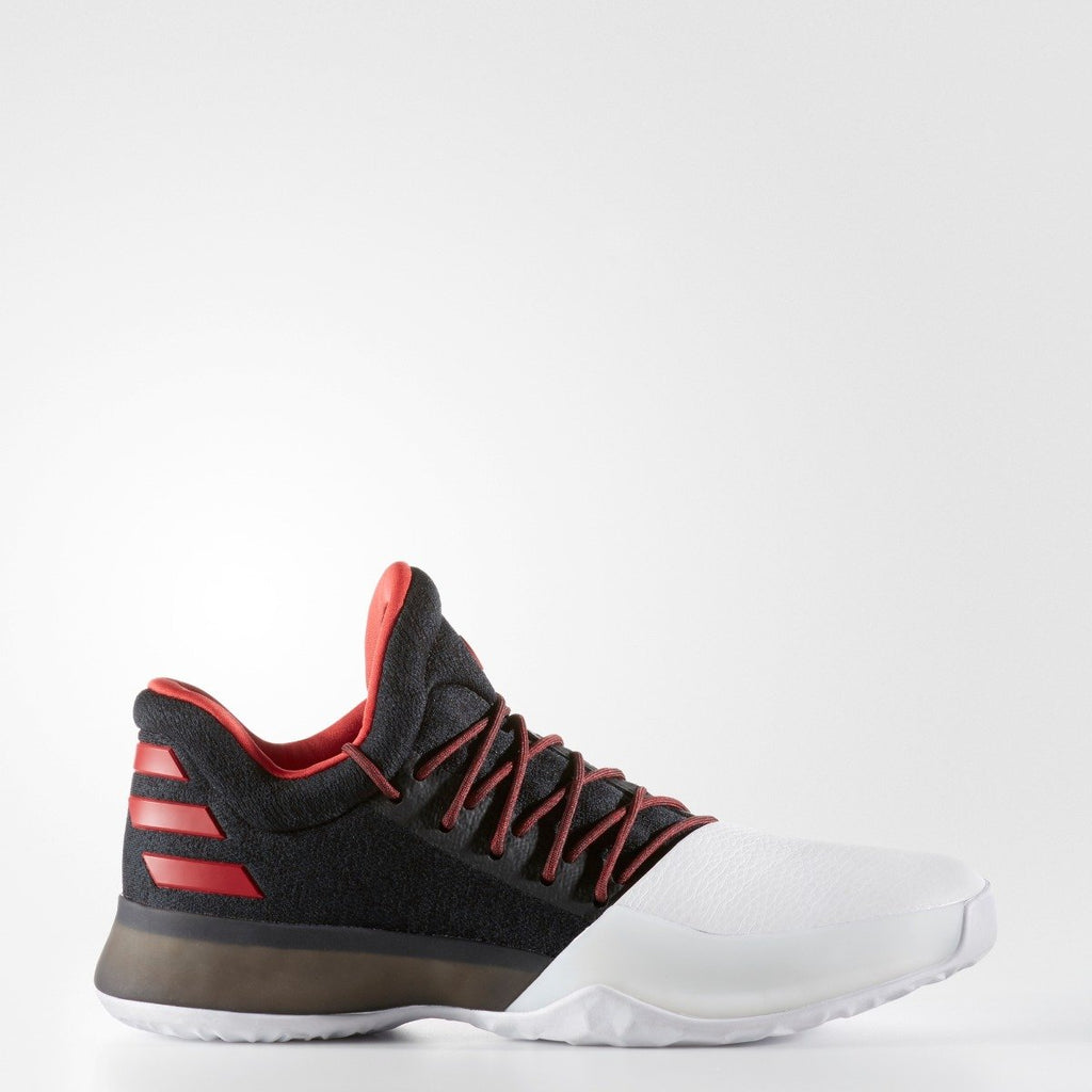 Men's Adidas Basketball Harden Vol. 1 Shoes Black/ Scarlet/ Whte