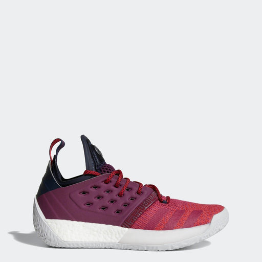 Men's adidas Harden Vol 2 Basketball Shoes Mystery Ruby Red and Legend Ink