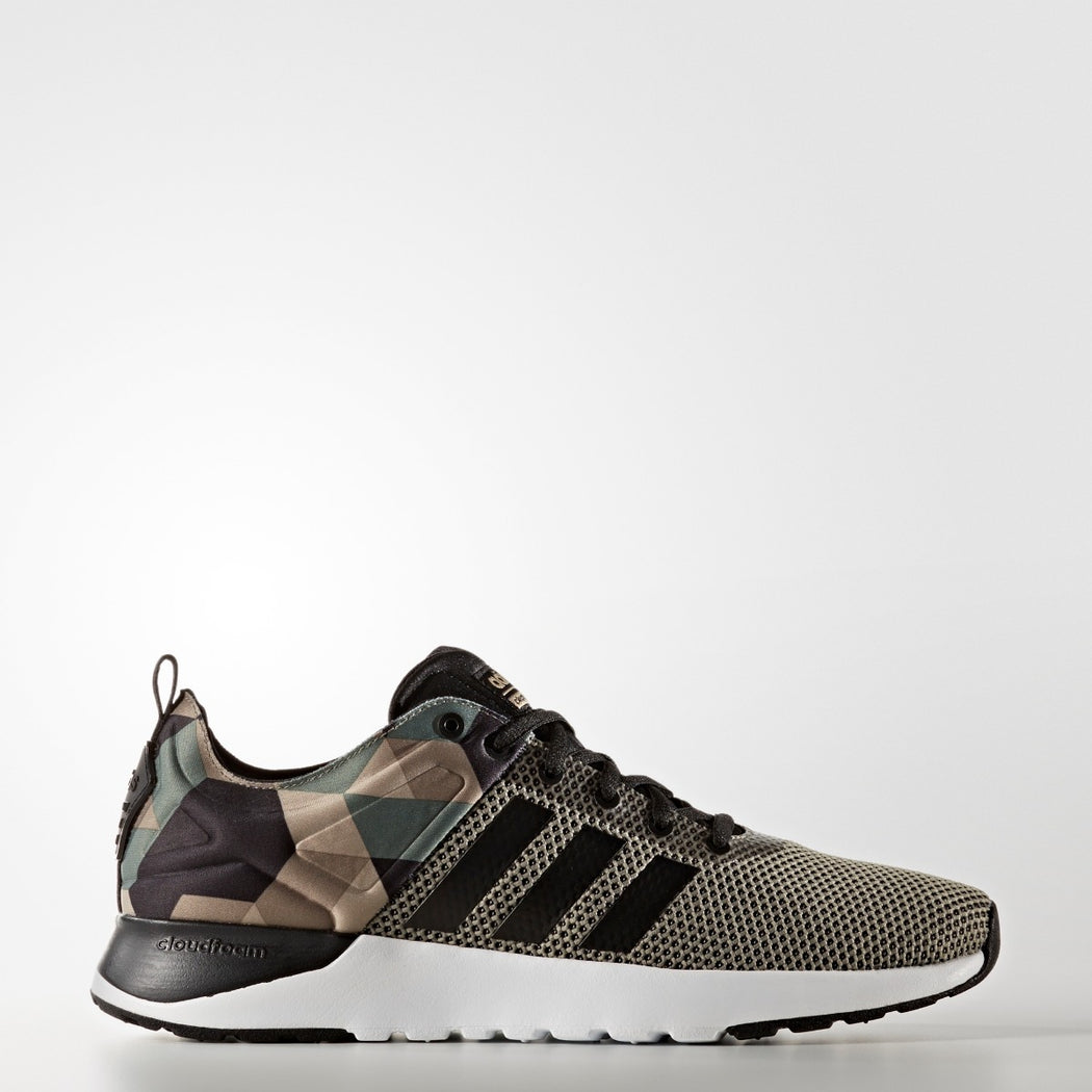 Men's Adidas NEO Cloudfoam Super Racer Shoes Camouflage
