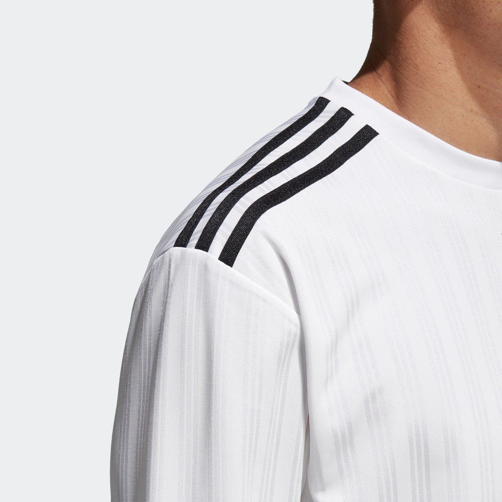 Men's adidas Originals 3-Stripes Long Sleeve Jersey White