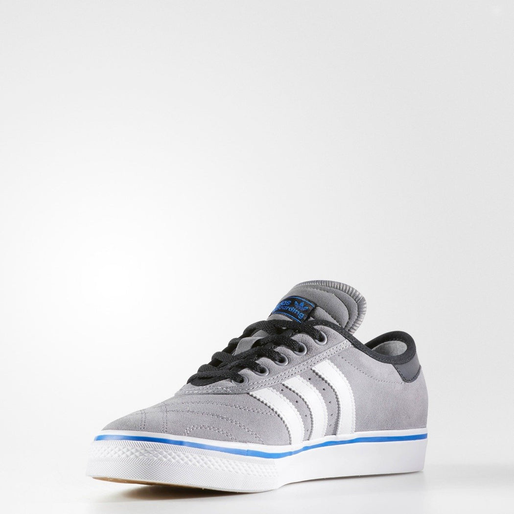 Men's adidas Originals adiease Premiere ADV Shoes Grey with White and Blue
