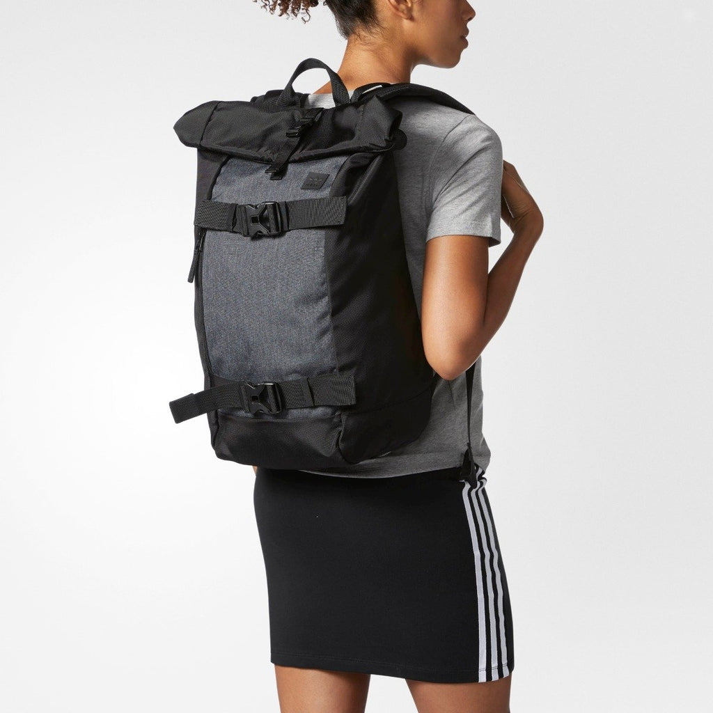 Men's Adidas Originals AS Skateboard Backpack Dark Grey