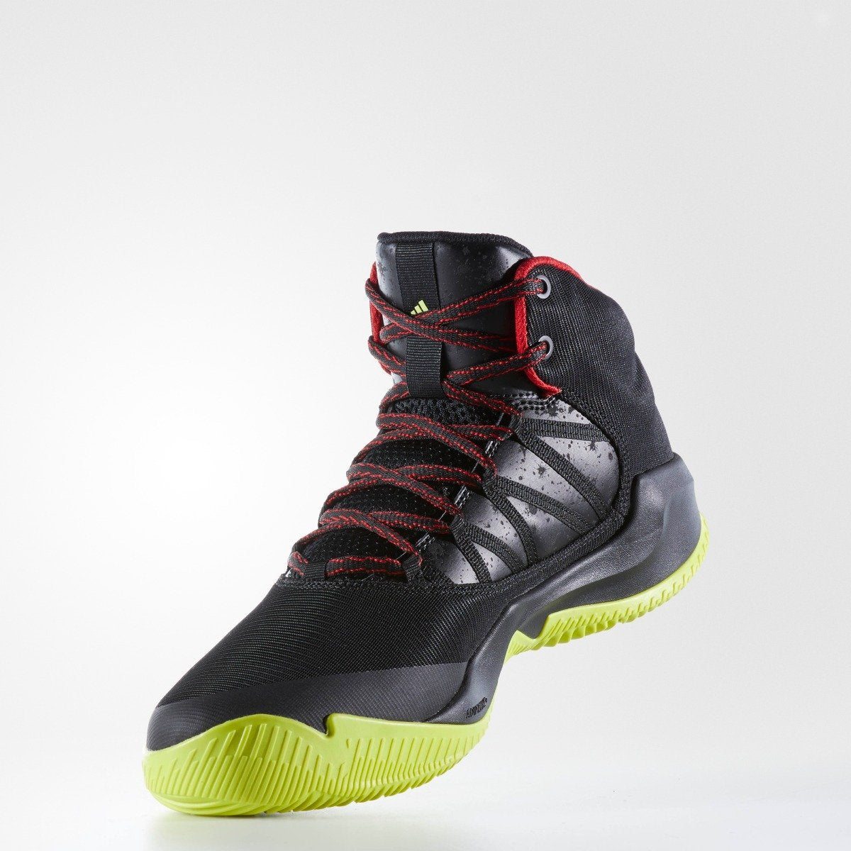 3c79eedf2e4 Men s adidas Originals Ball 365 Infiltrate Basketball Shoes Black with  Yellow and Red. 1
