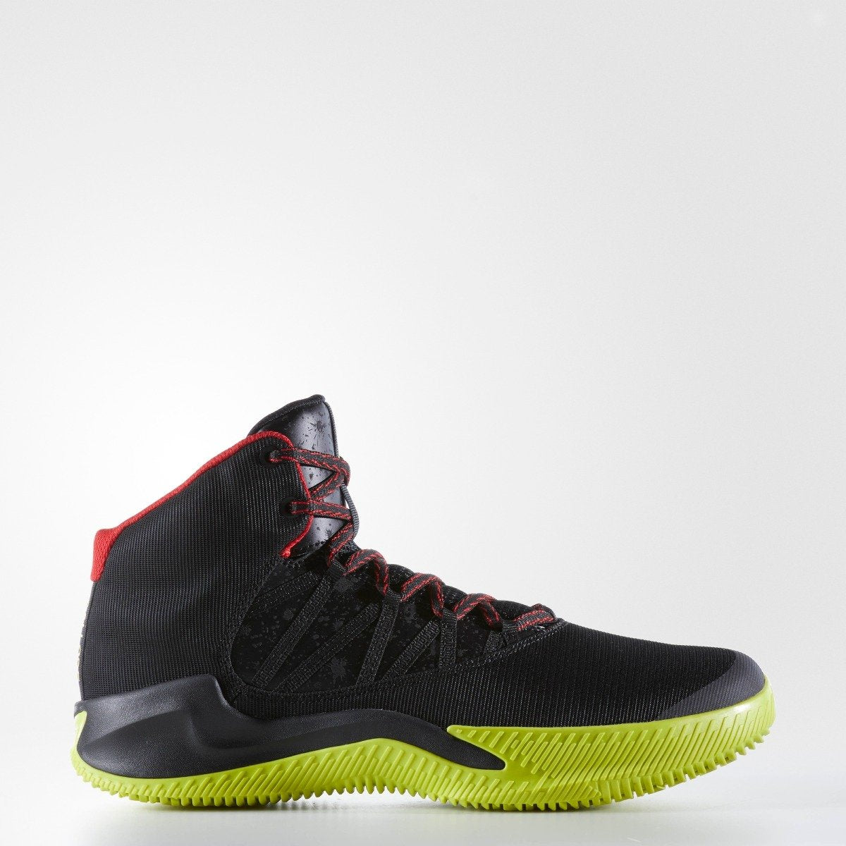 96b690da09b Men s adidas Originals Ball 365 Infiltrate Basketball Shoes Black with  Yellow and Red