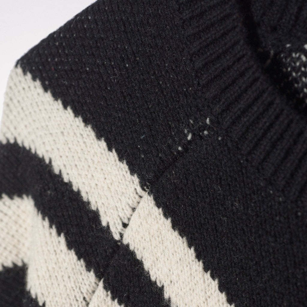 Men's adidas Originals by White Mountaineering 3 Stripes Knit Sweater Black