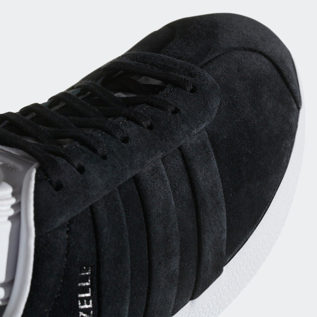 Men's adidas Originals Campus Stitch and Turn Shoes Core Black with Cloud White CQ2358 | Chicago City Sports | toe area view
