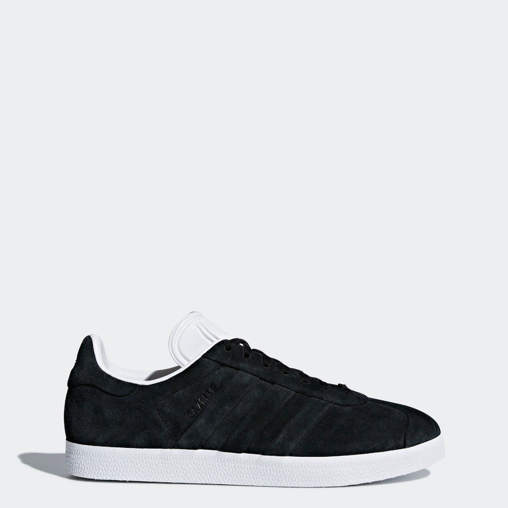 Men's adidas Originals Campus Stitch and Turn Shoes Core Black with Cloud White CQ2358 | Chicago City Sports | side view