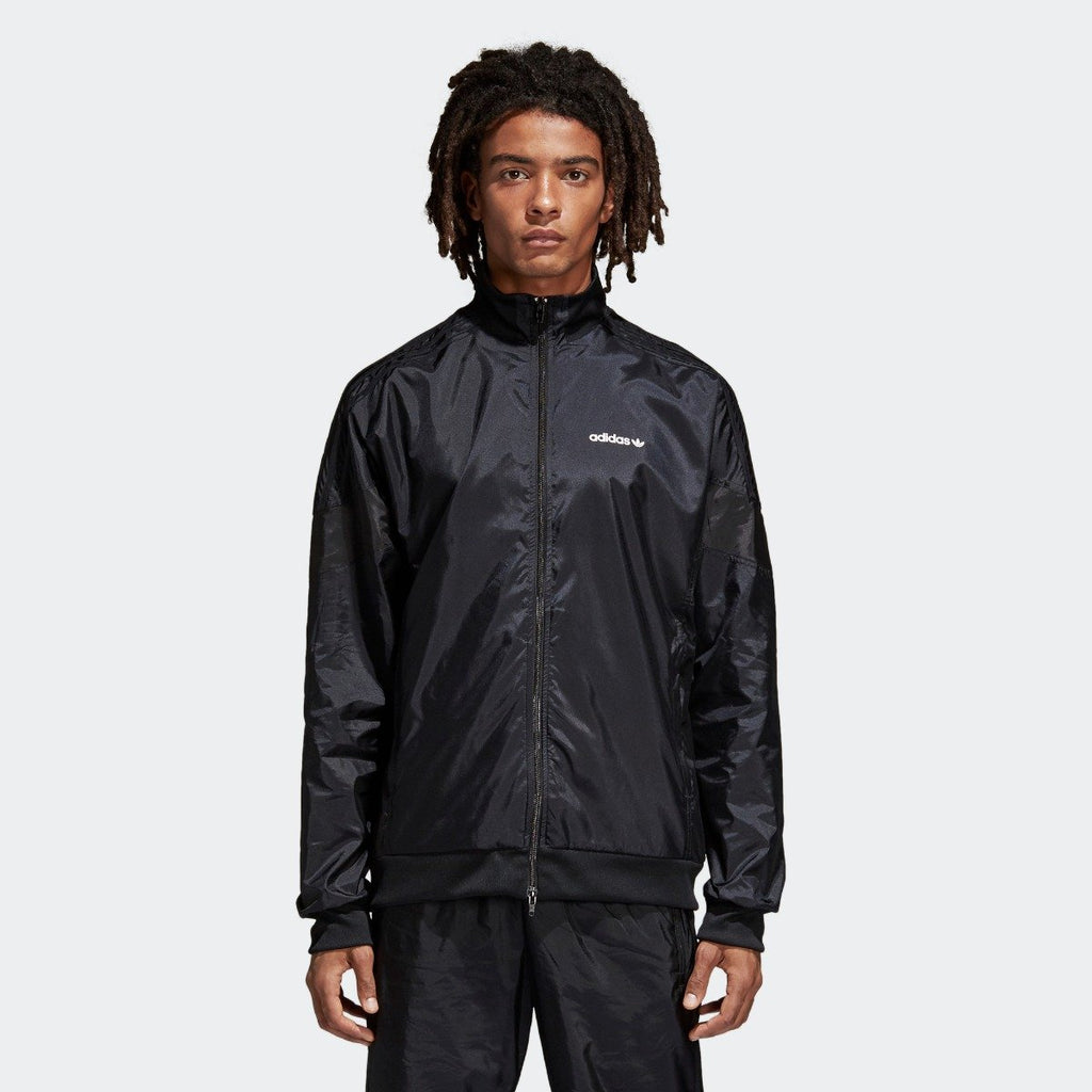 Men's adidas Originals CLR-84 Woven Track Jacket Black