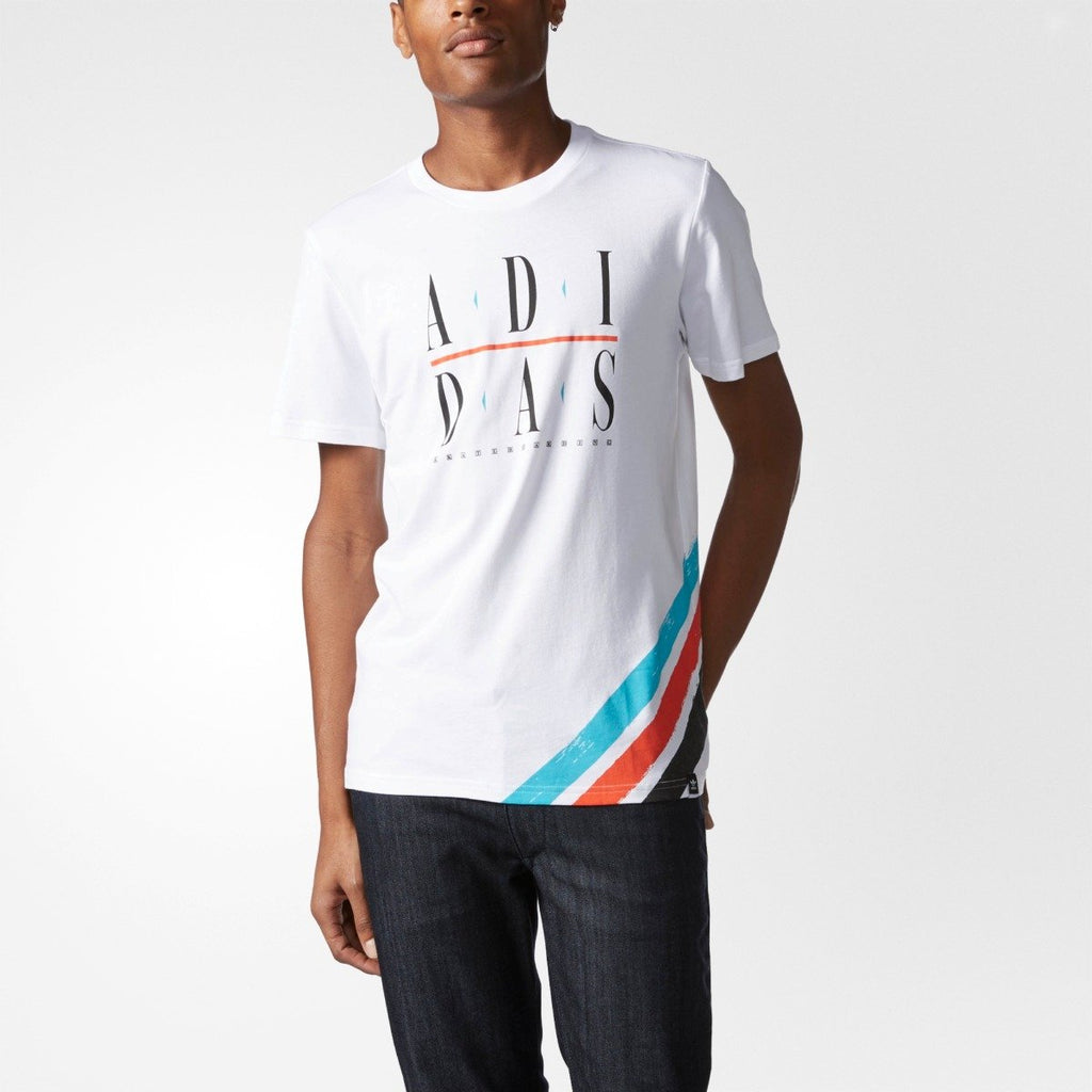 Men's adidas Originals Courtside Tee White