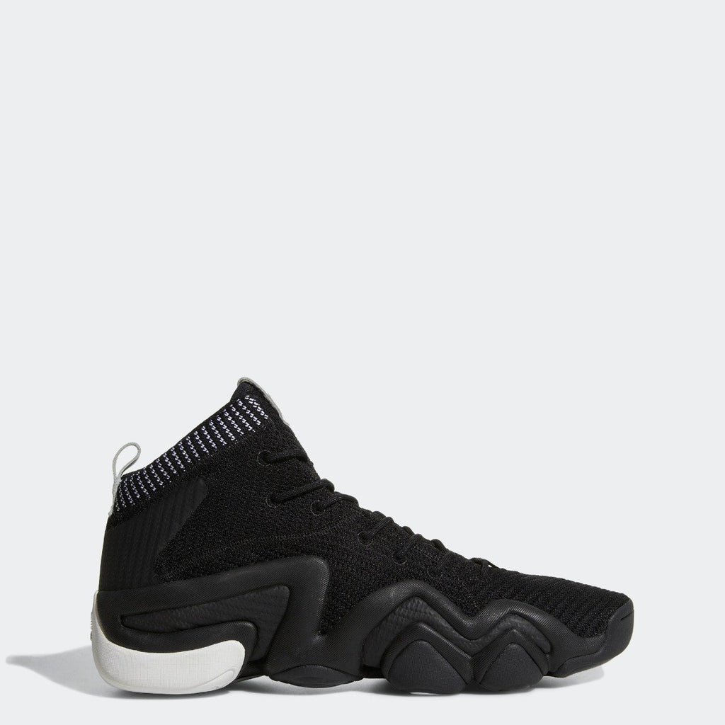 Men's adidas Originals Crazy 8 ADV Primeknit Shoes Core Black with White
