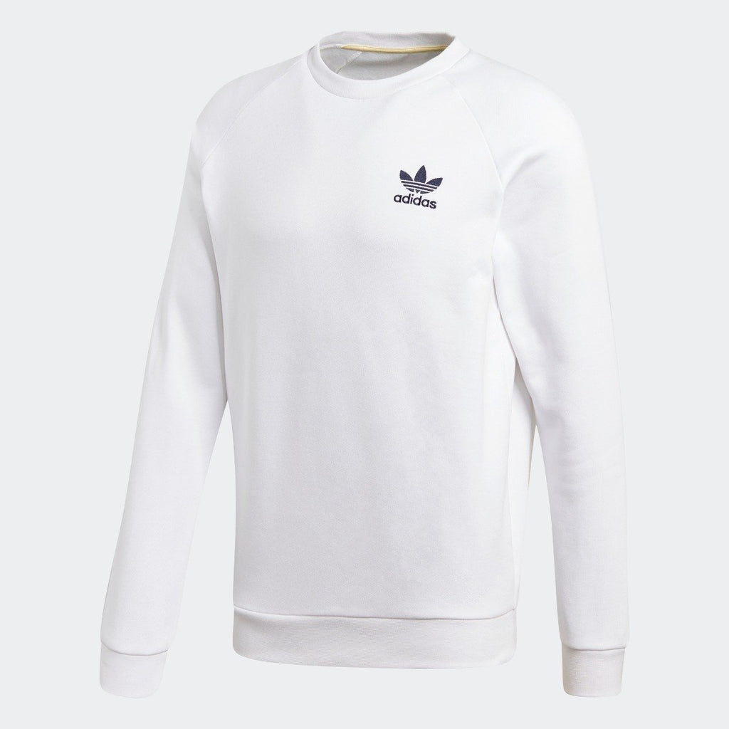 Men's Adidas Originals Crew Sweatshirt White