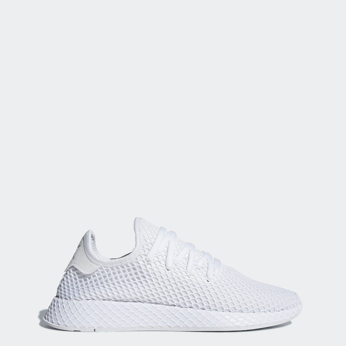 official photos dfc75 e32e5 Mens adidas Originals Deerupt Runner Shoes Cloud White