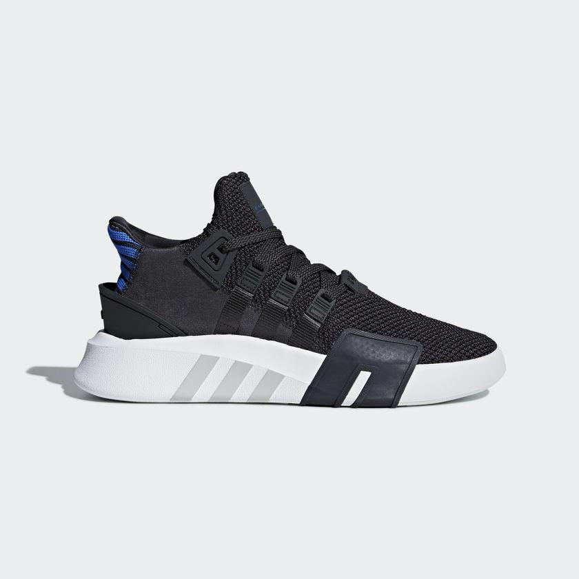 Men's adidas Originals EQT Bask ADV Shoes Carbon with Collegiate Royal
