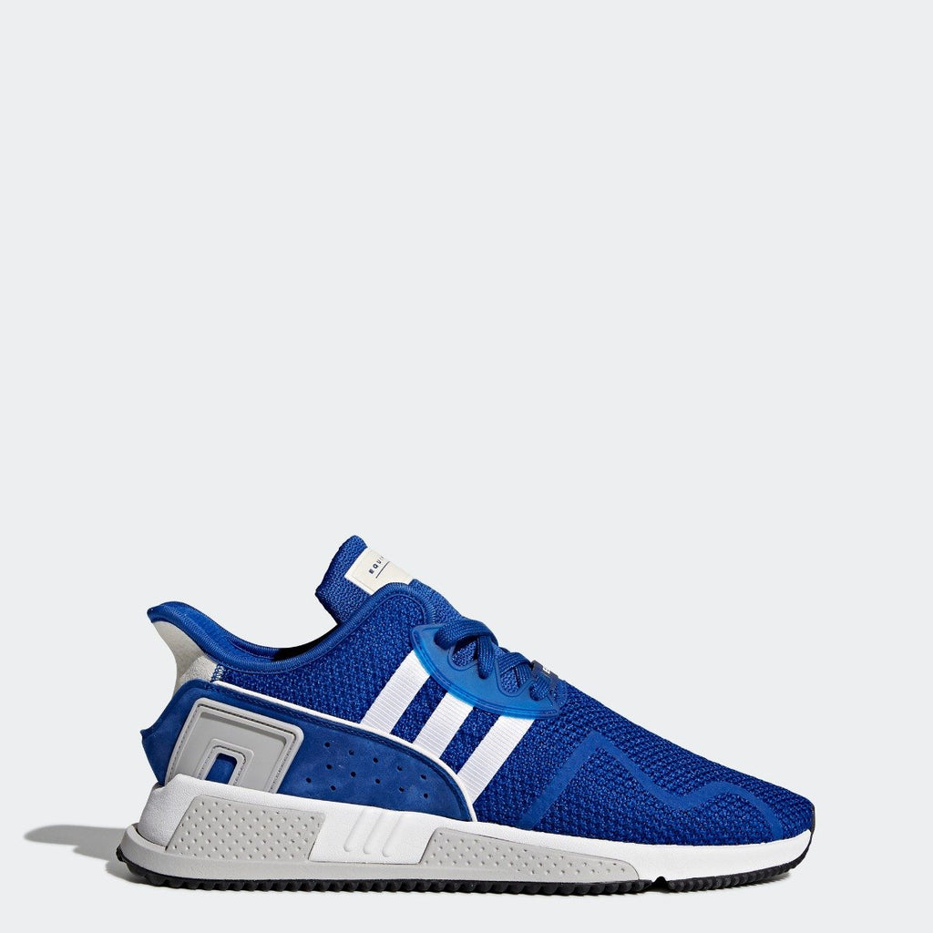 Men's adidas Originals EQT Cushion ADV Shoes Collegiate Royal Blue with Grey and White