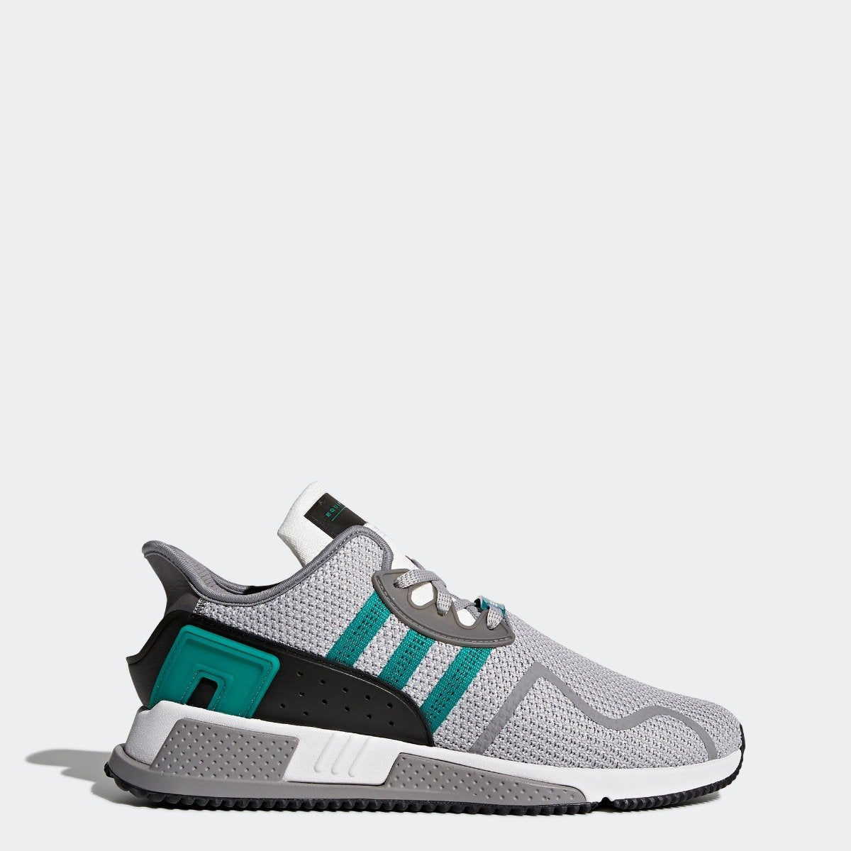 097ca71b25a5 Men s adidas Originals EQT Cushion ADV Shoes Grey with Sub Green ...