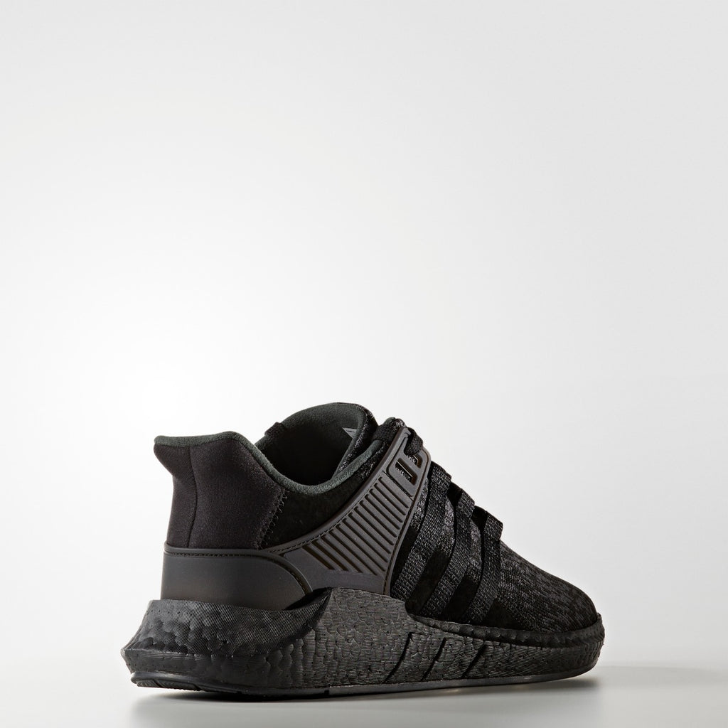 Men's adidas Originals EQT Support 91/17 Shoes Core Black BY9512 | Chicago City Sports | rear view