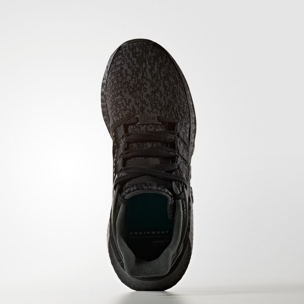 Men's adidas Originals EQT Support 91/17 Shoes Core Black BY9512 | Chicago City Sports | top view