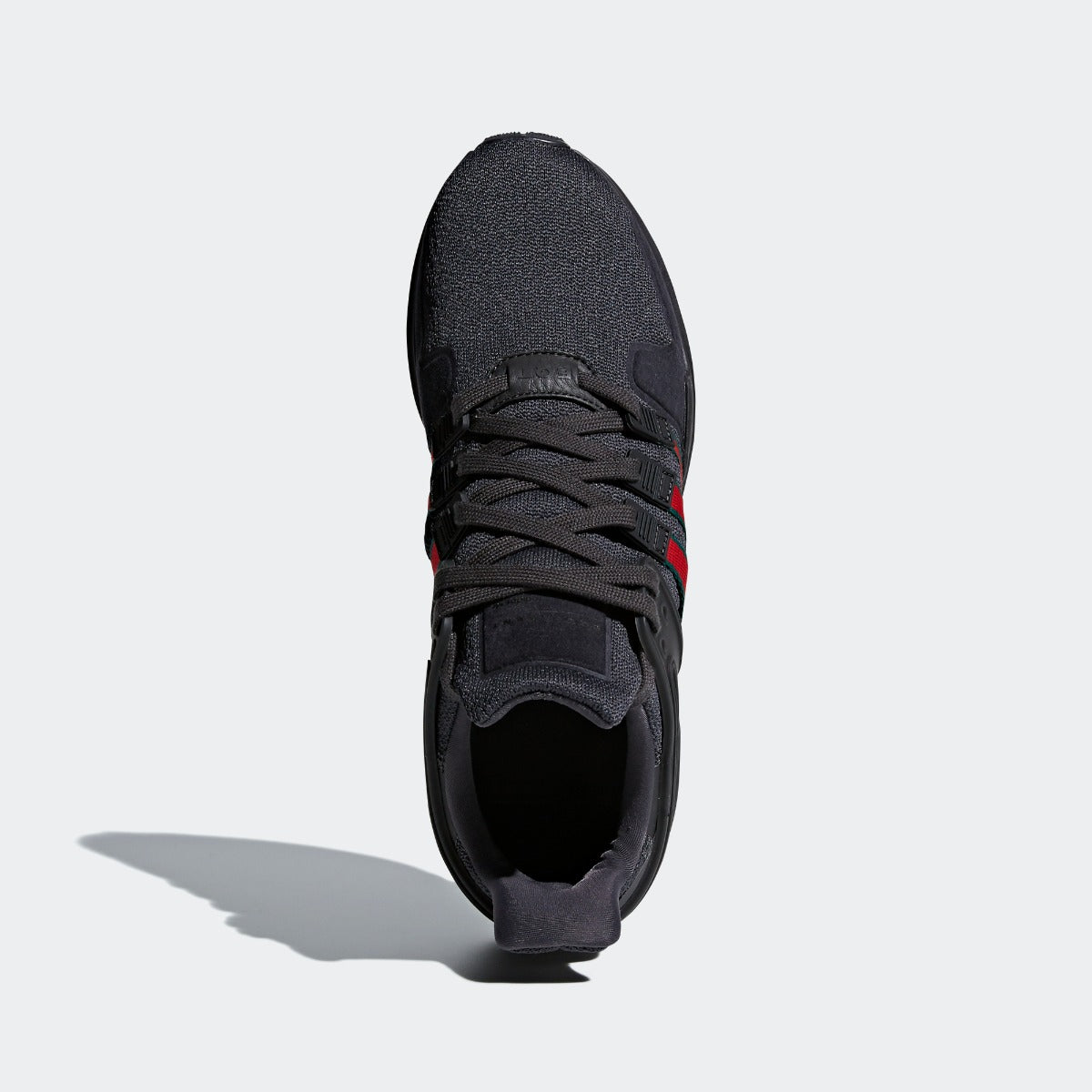 pretty nice 791f2 175cd Men s adidas Originals EQT Support ADV Shoes All Core Black  Red  Green. 1