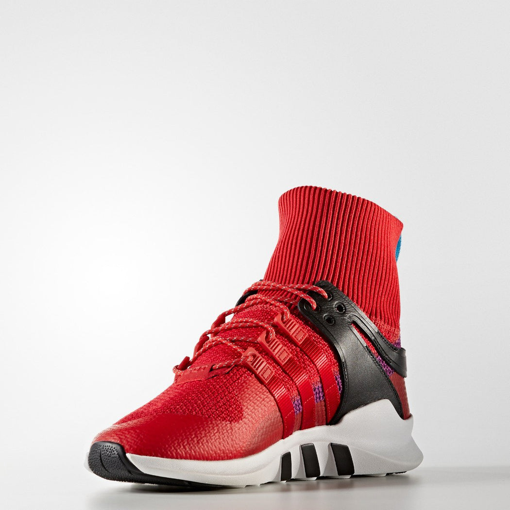 Men's adidas Originals EQT Support ADV Winter Shoes Scarlet Red