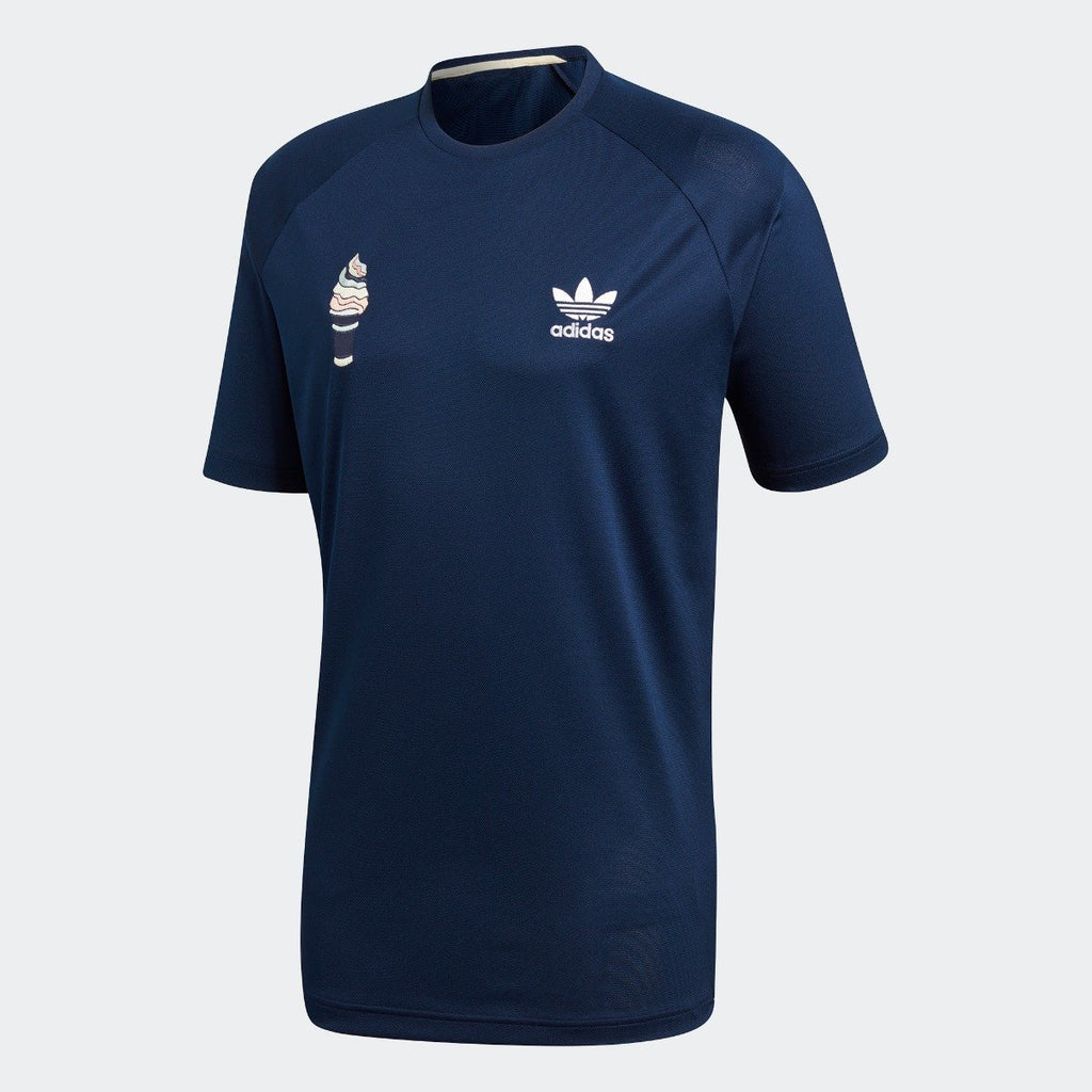 Men's adidas Originals Football Tee Collegiate Navy