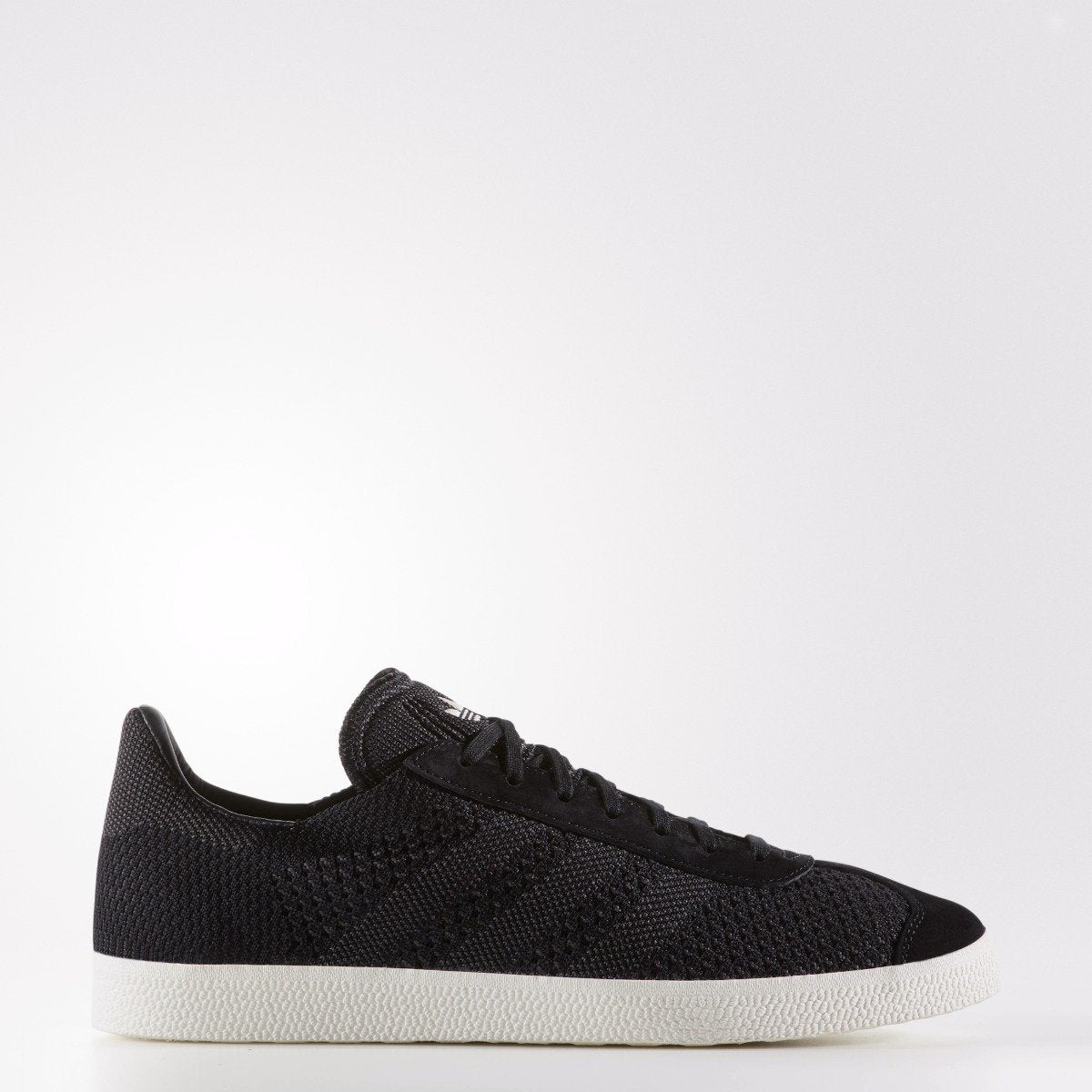 website for discount good out x buy popular Men's adidas Originals Gazelle Primeknit Shoes Black BZ0003 ...