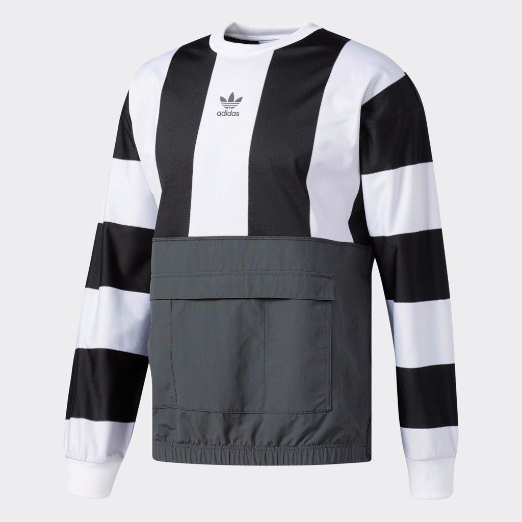 Men's adidas Originals Hybrid Goalie Sweatshirt Black