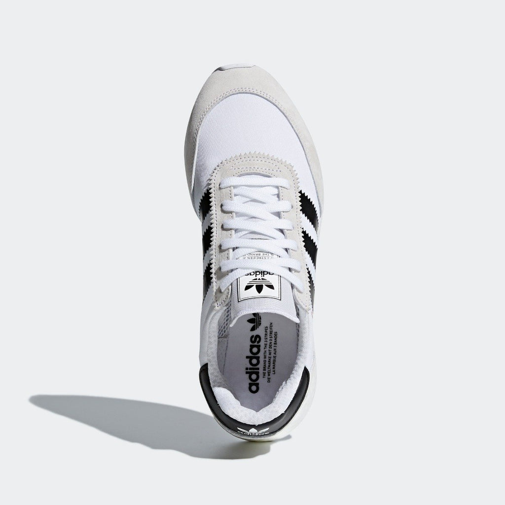 Men's adidas I-5923 Shoes White Black CQ2489 | Chicago City Sports | top view