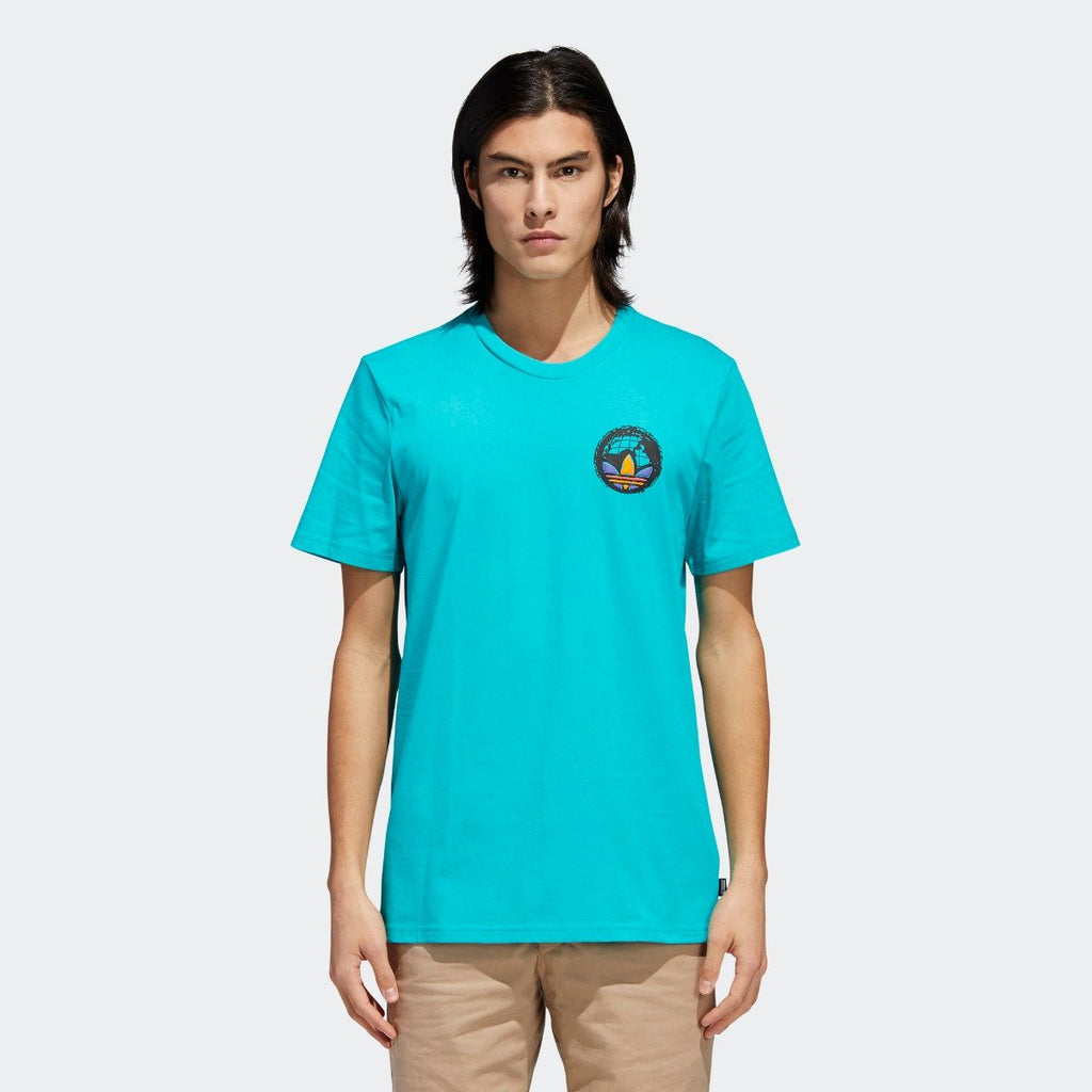 Men's adidas Originals Johnsonian Tee Shock Green