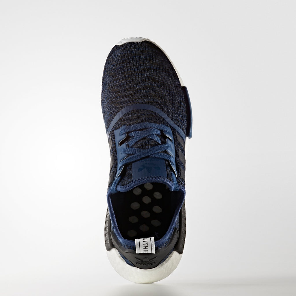 Men's adidas Originals NMD_R1 Shoes Mystery Blue