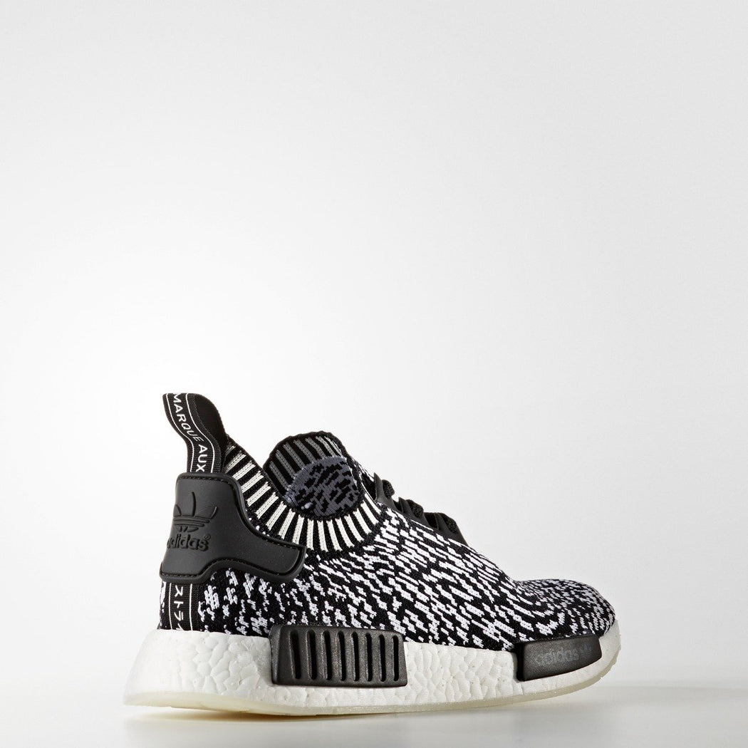 Men's adidas Originals NMD_R1 Primeknit Shoes Black