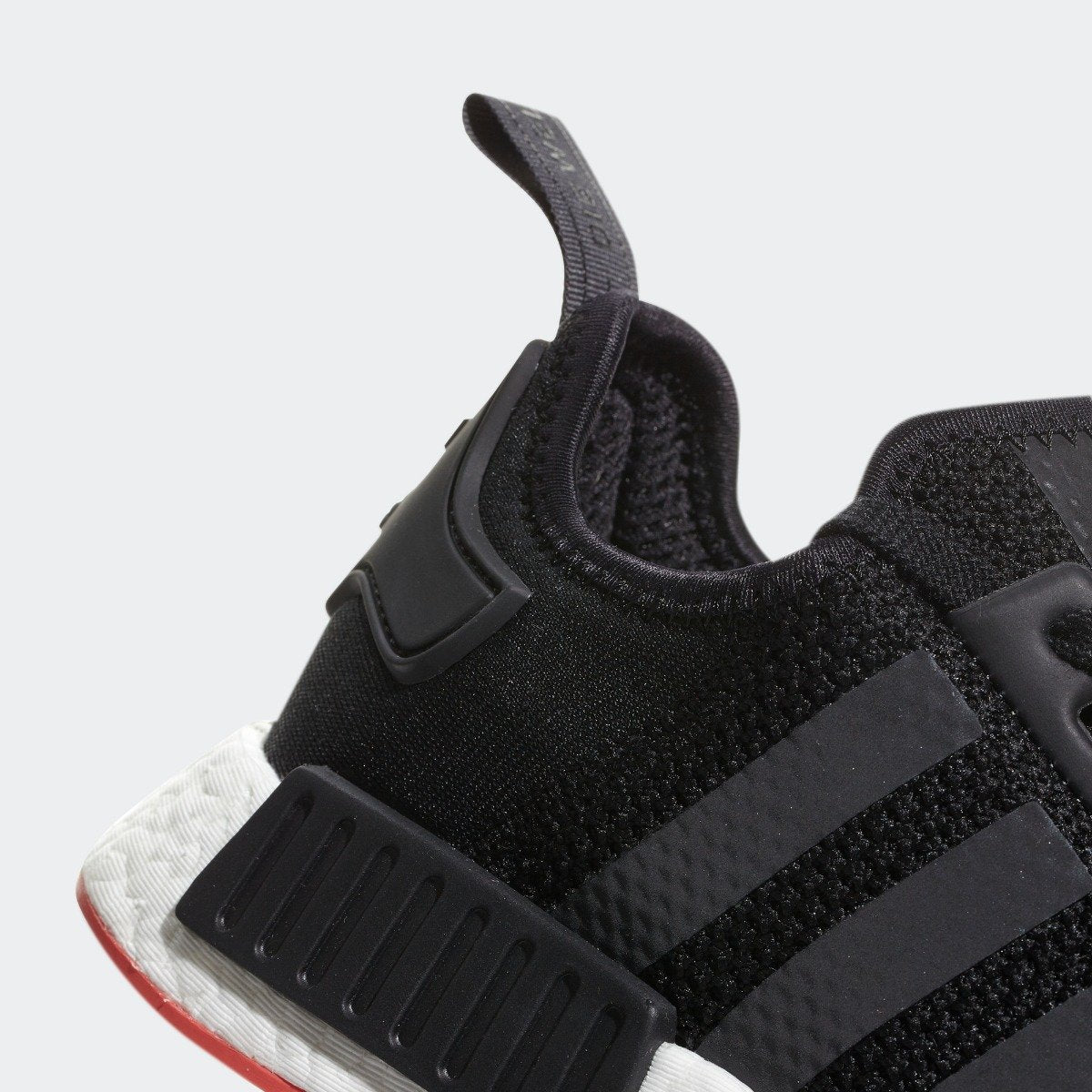 044f90a54f5c1 Men s adidas Originals NMD R1 Shoes Core Black with Trace Scarlet ...