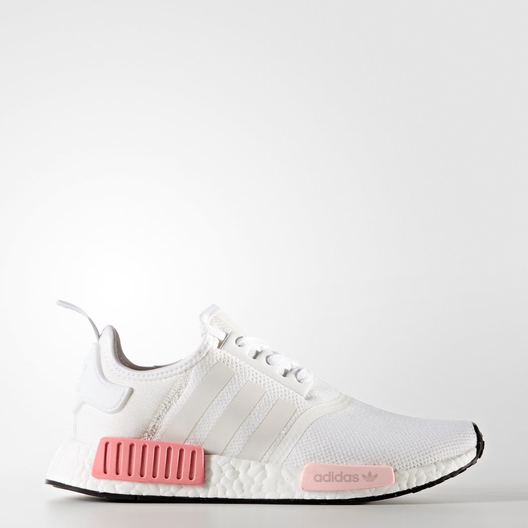 Men's Adidas Originals NMD_R1 White Rose