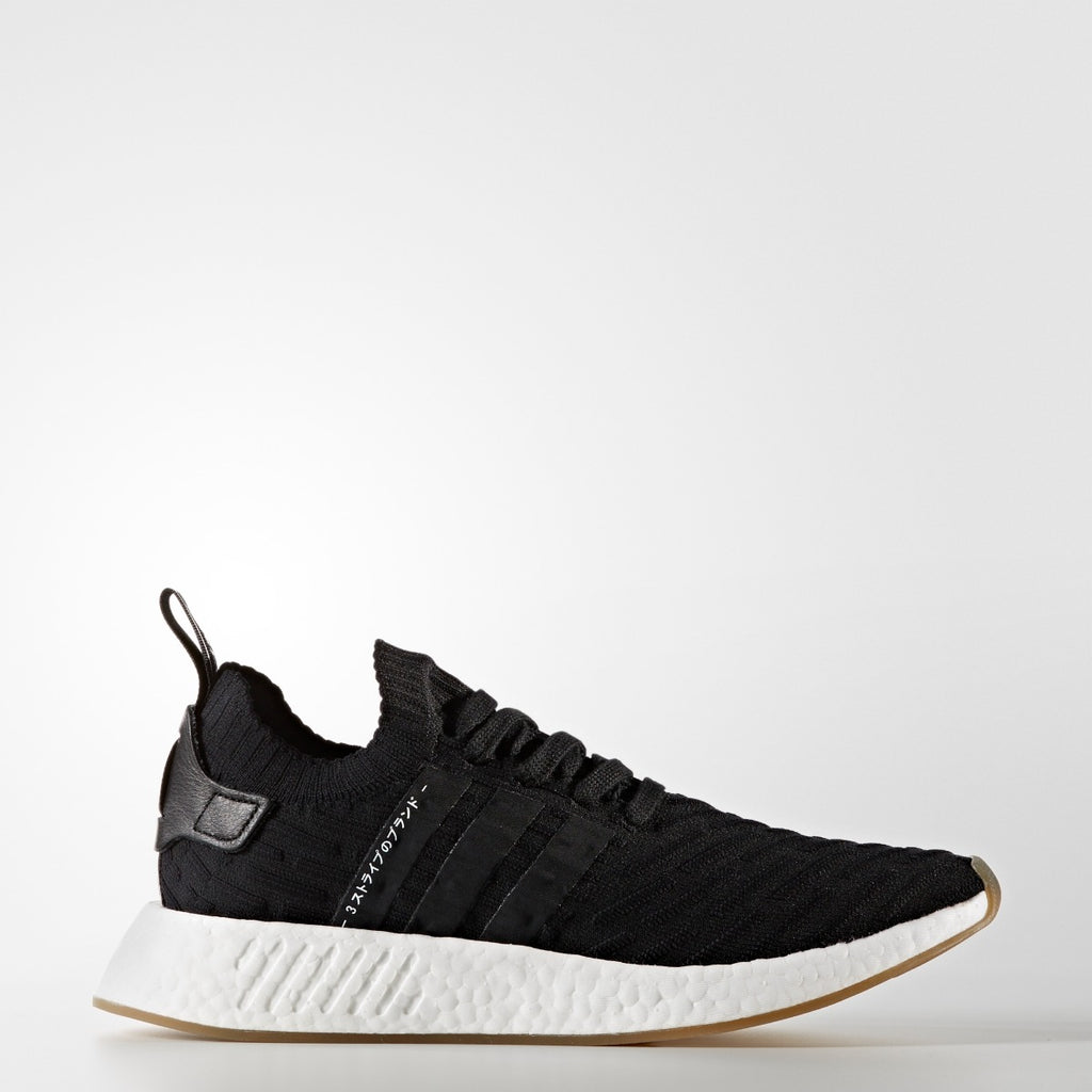 Men's adidas Originals NMD_R2 Primeknit Shoes Black