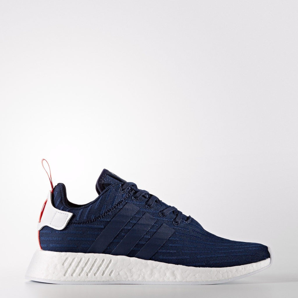 Men's adidas Originals NMD_R2 Primeknit Shoes Collegiate Navy