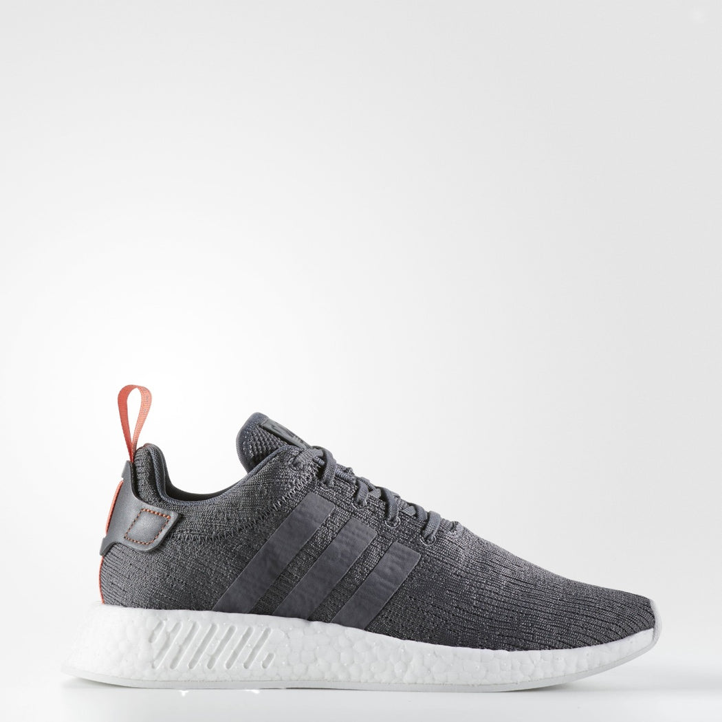 Men's Adidas Originals NMD_R2 SHOES Grey Five