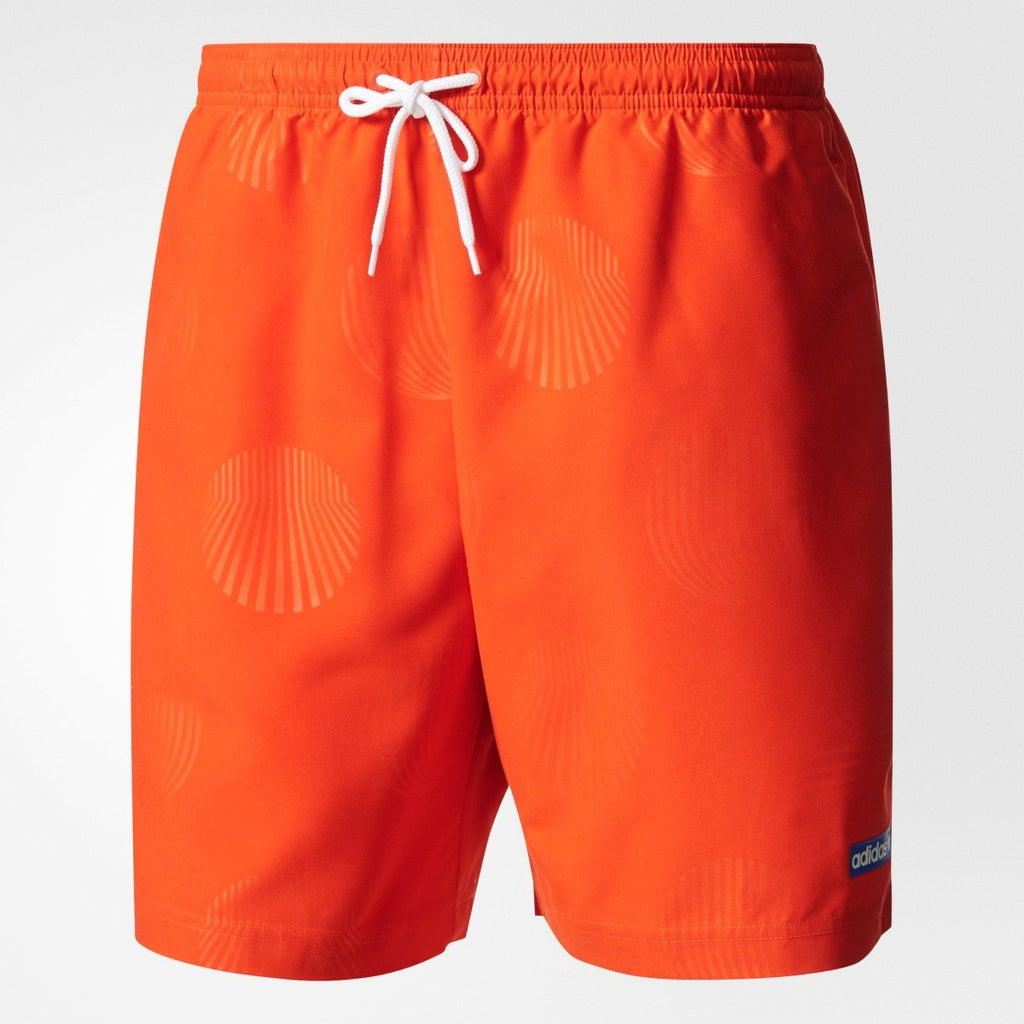 Men's adidas Originals Osaka Swim Shorts Bold Orange