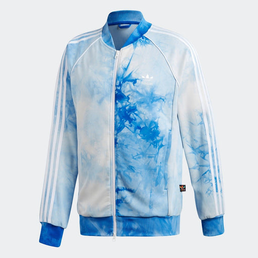 Men's adidas Originals Pharrell Williams Hu Holi SST Track Jacket Blue