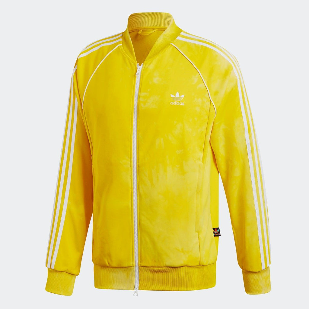 Men's adidas Originals Pharrell Williams Hu Holi SST Track Jacket Yellow