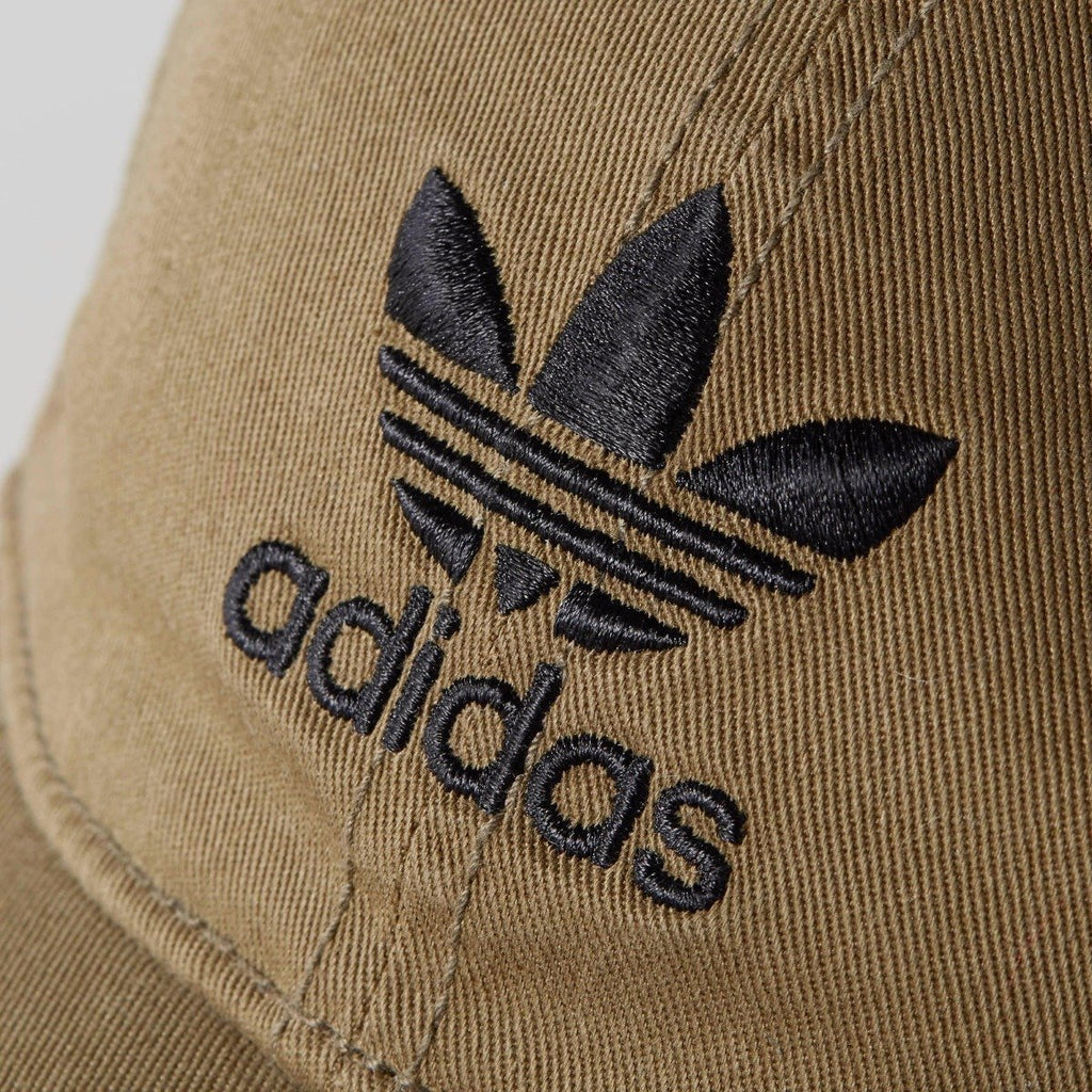Men's adidas Originals Relaxed Strapback Hat Olive