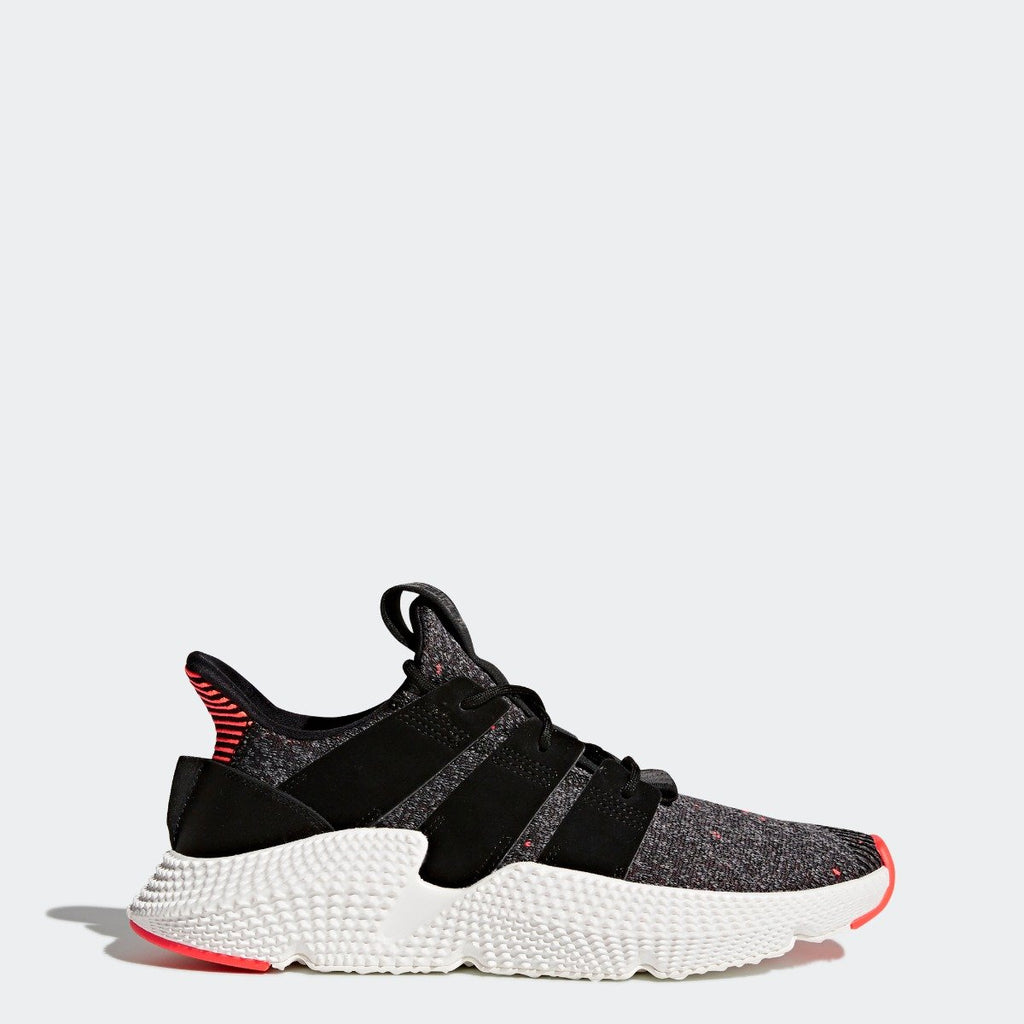 Men's adidas Originals Prophere Shoes Core Black with Solar Red