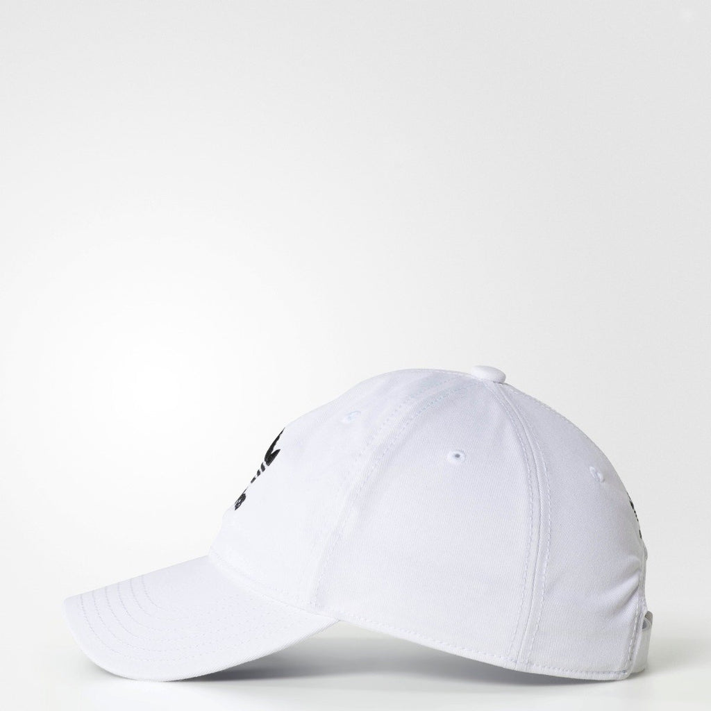 Men's Adidas Originals Relaxed Strapback Hat White