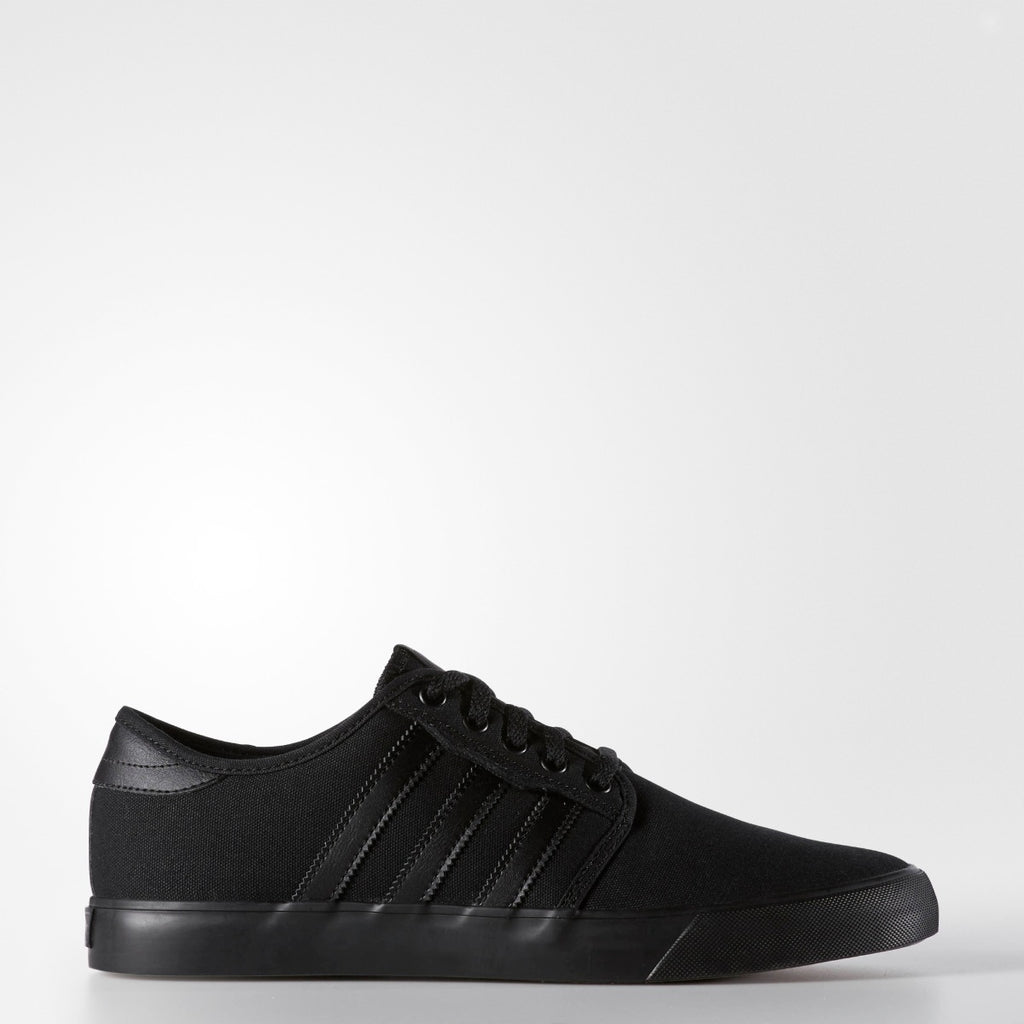 Men's adidas Originals Seeley Shoes Black AQ8531 | Chicago City Sports | side view