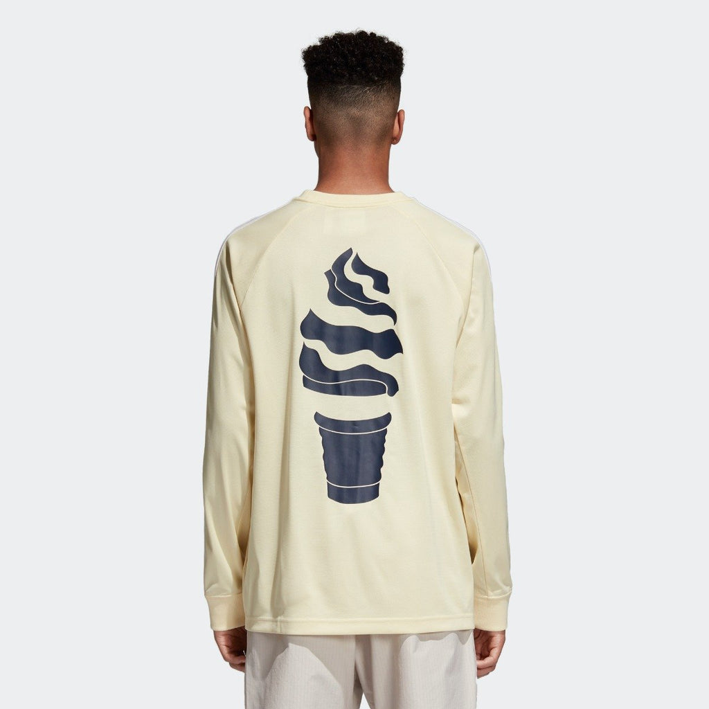 Men's adidas Originals Soccer Tee Mist Sun Yellow