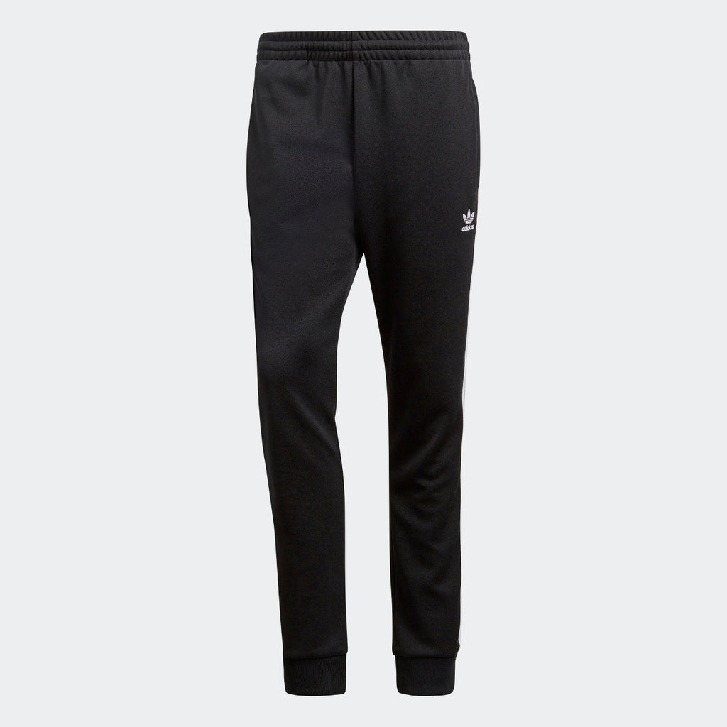 Men's adidas Originals SST Track Pants Black White