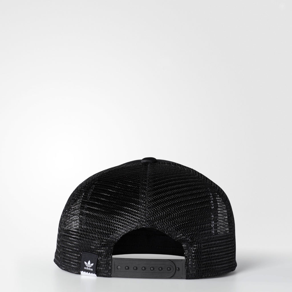 Men's Adidas Originals Thanks Trucker Hat Black