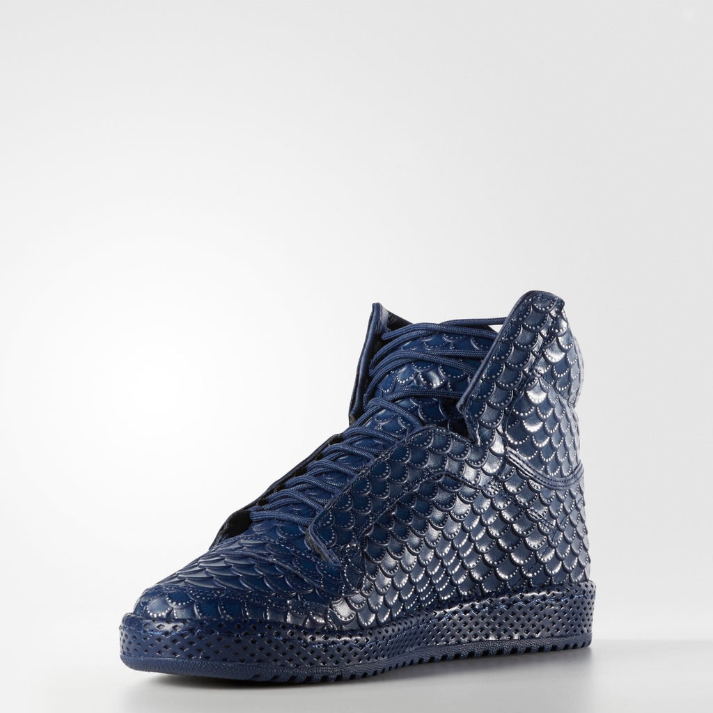 MEN'S ADIDAS ORIGINALS TOP TEN-HI PC ORNAMENT PACK DEEP NAVY