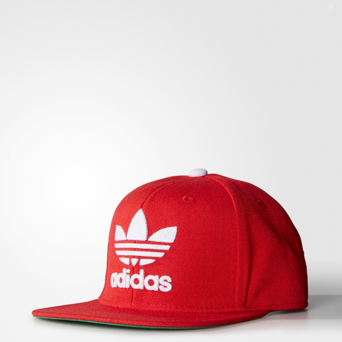 503bf7c4a57 Men s Adidas Originals Trefoil Chain Snapback Hat Scarlet Red S48636 ...