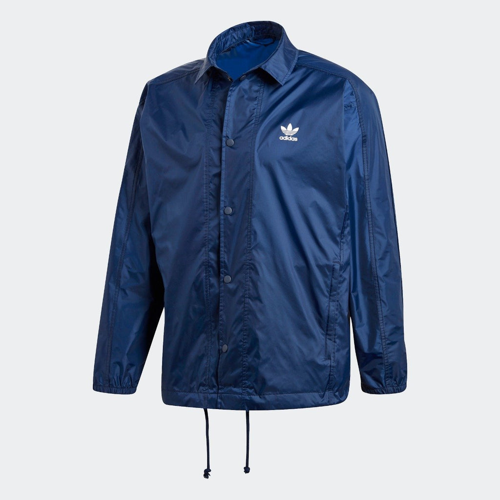 Men's adidas Originals Trefoil Coach Jacket Collegiate Navy